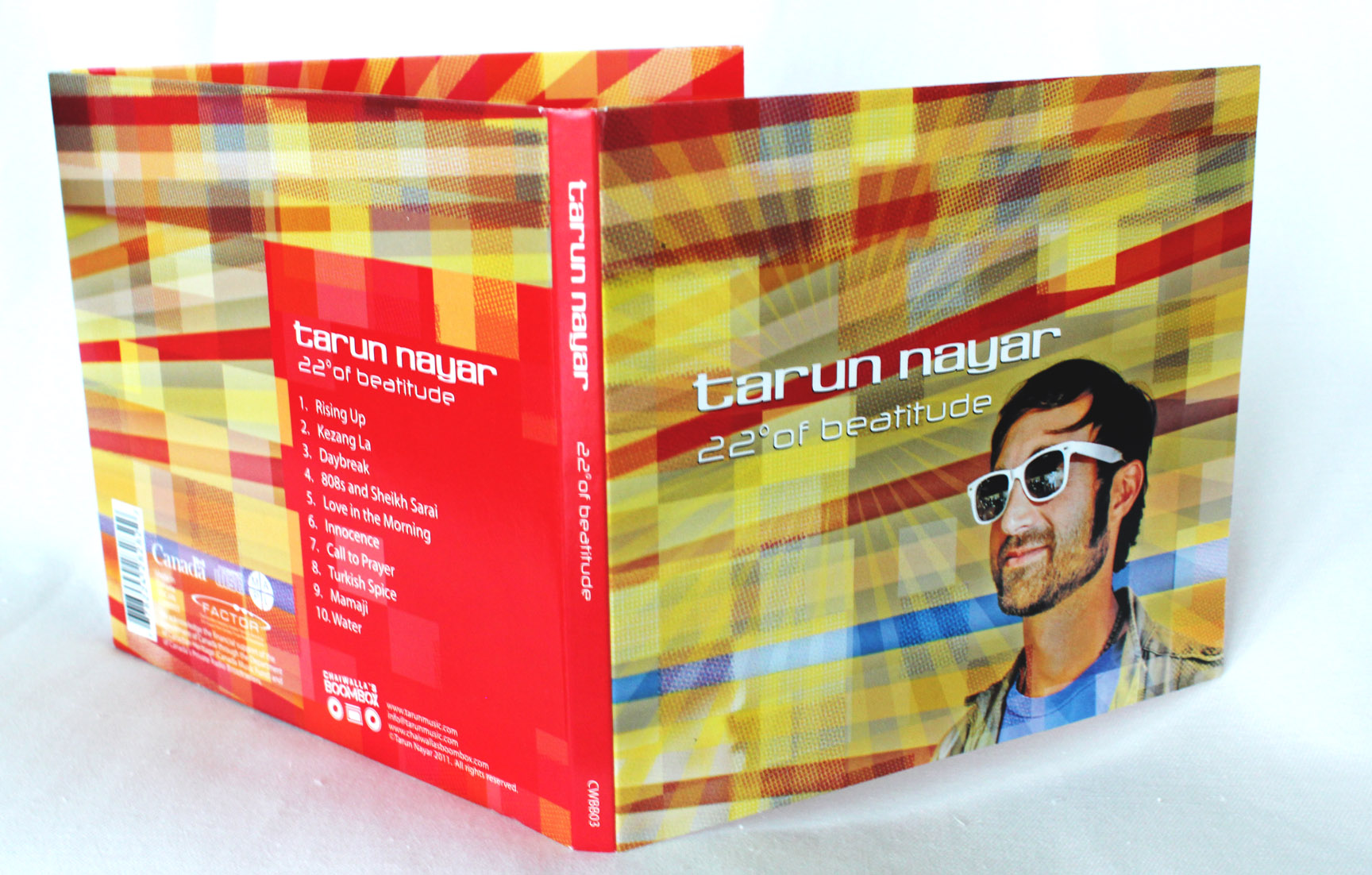 Tarun Nayar: 22° of Beatitude, 2010 album release