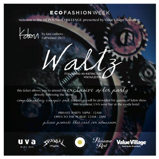 kdon - eco fashion week (2013)