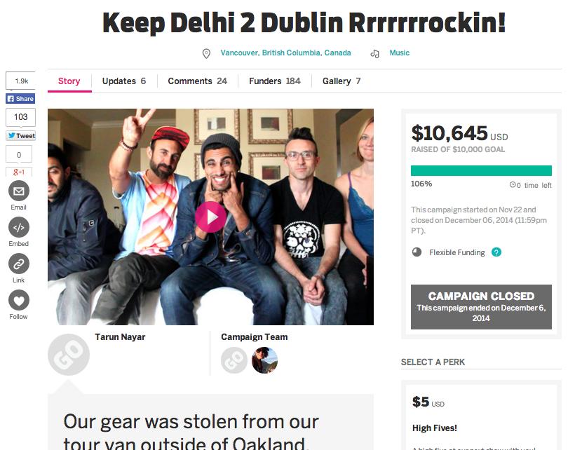 Delhi 2 Dublin on Indiegogo